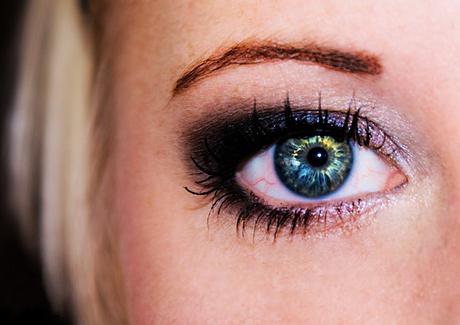 Maudy's eye