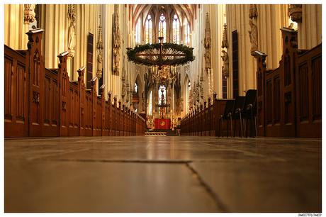 kathedraal middenbeuk