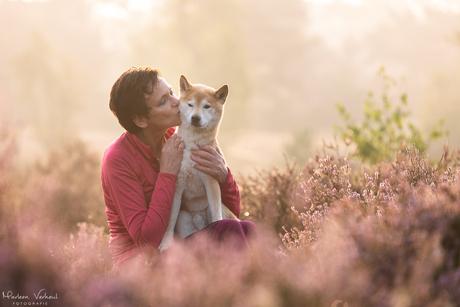 Liefde tussen baas en hond