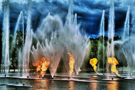 water en vuur.
