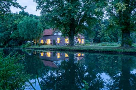 Huisje bij kasteel Heeze