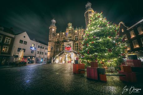 Stadhuis van Venlo in December