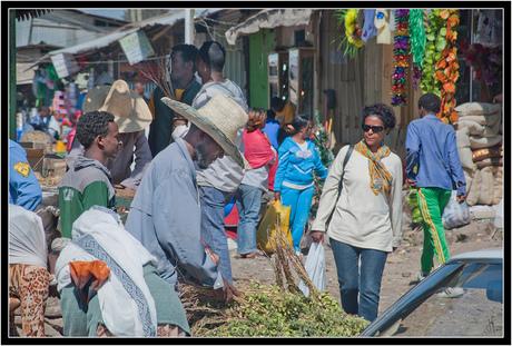 Addis Abeba - markt