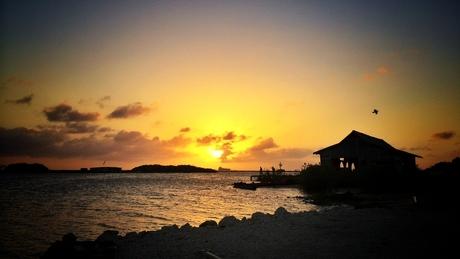 Sunset on Aruba