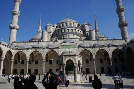 The blue mosk Istanbul