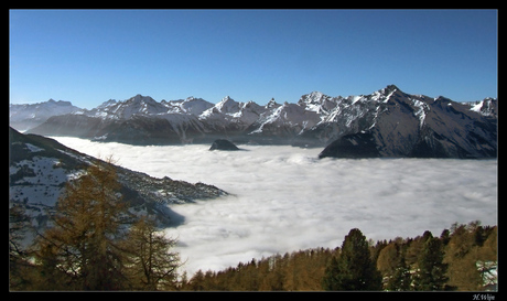 Wolken tapijt