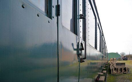 Oud treinstel NMBS