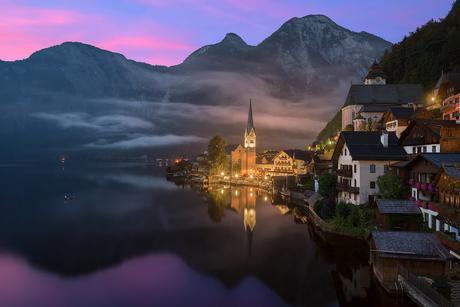 Sunrise in Hallstatt | Austria