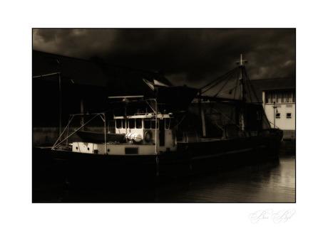 Yerseke by night