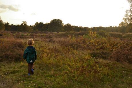A child's walk