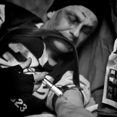 Homeless Junkie