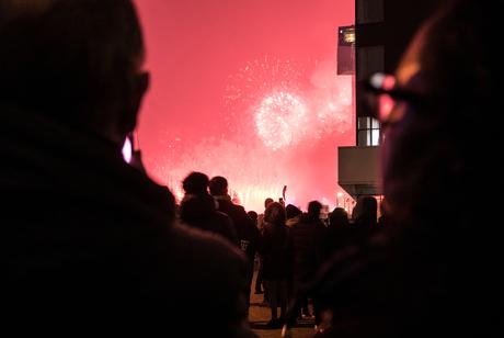 Rotterdam - Vuurwerkshow