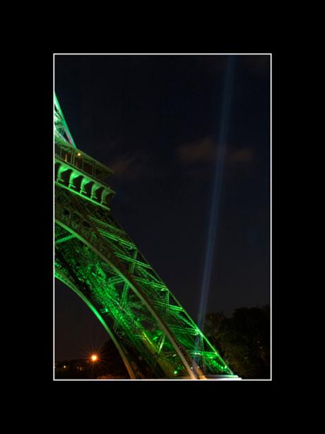 Verlichting van Eiffeltoren