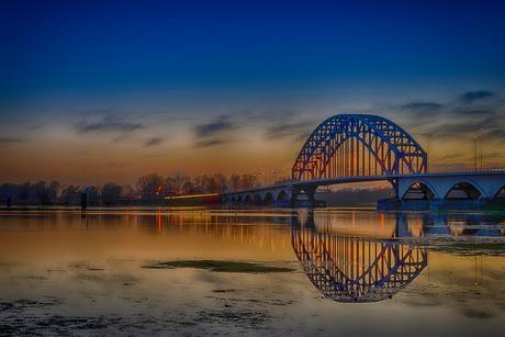 Thema spiegeling brug Zwolle