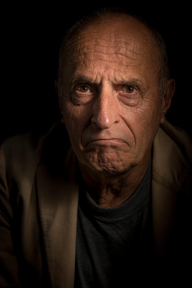 Herman - - - foto door Raymond59 op 05-06-2017 - deze foto bevat: man, donker, portret, flitser, lowkey