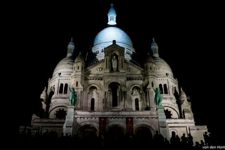 Sacre-Coeur by night
