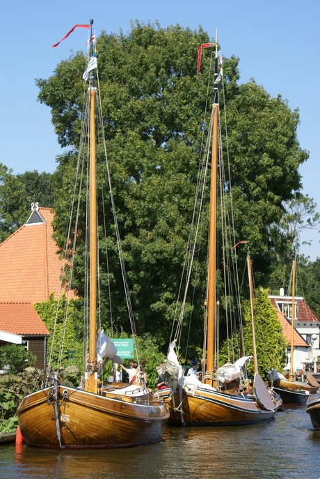 Vroeger toen de boten van hout waren en de mannen van staal
