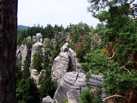 rotsen in Tsjechie