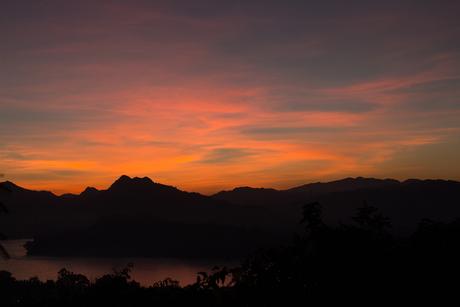 Zonsondergang Luangn Prabang