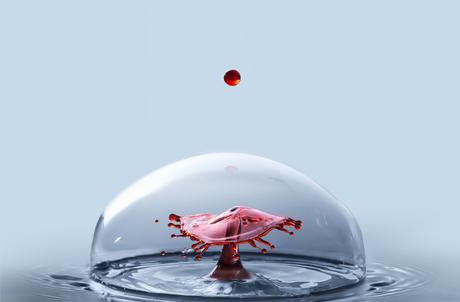 entering bubble