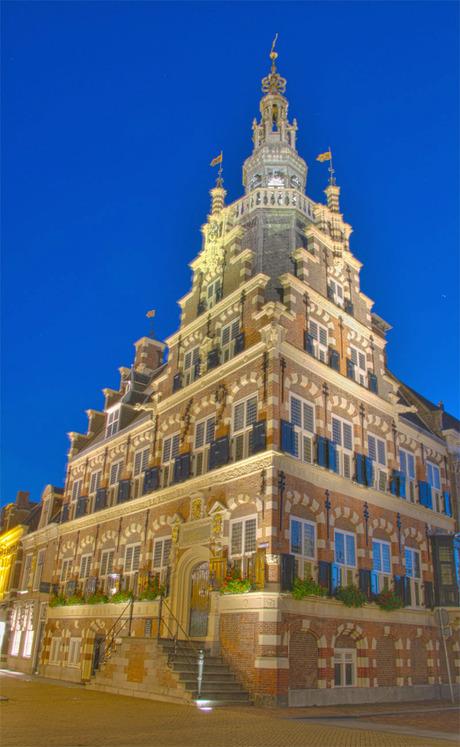2e HDR, Stadhuis Franeker