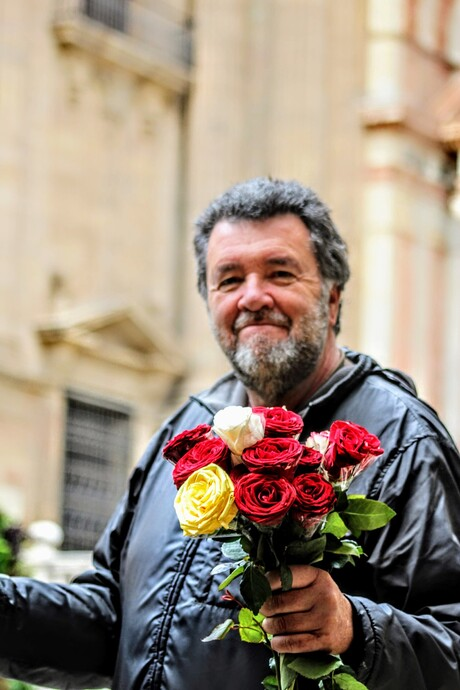 Vendedor Rosas