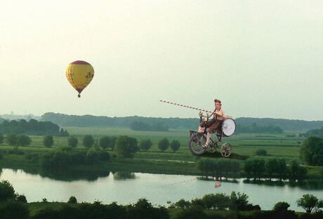 Aerial Jousting