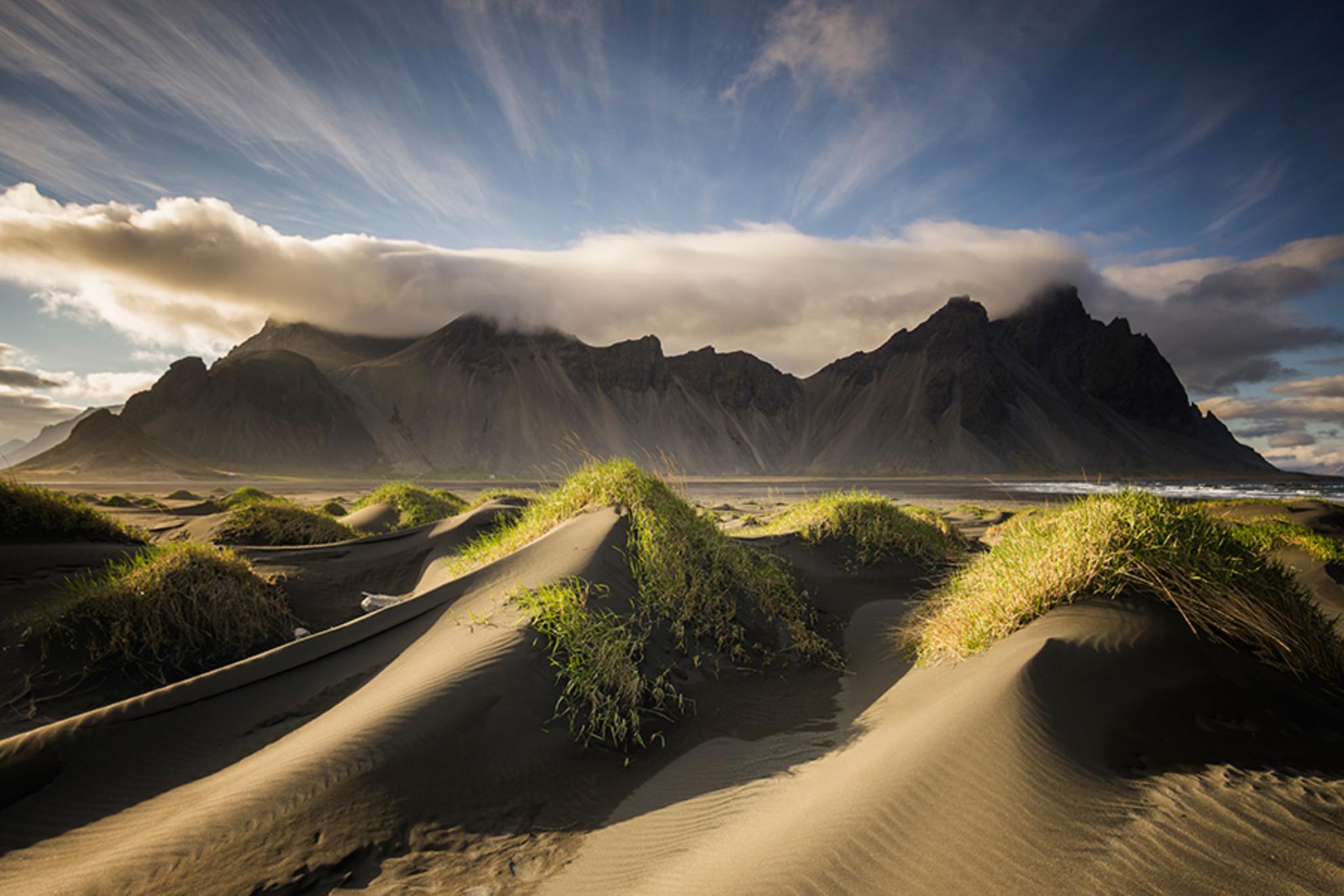 The Mountain - Bedankt voor het kijken :) - foto door EugeneK op 22-07-2015 - deze foto bevat: lucht, strand, duinen, ijsland, kust, berg - Deze foto mag gebruikt worden in een Zoom.nl publicatie