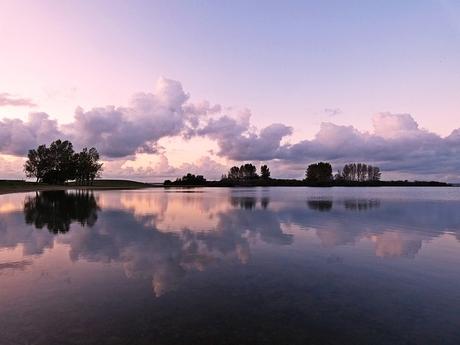 Het stille meer....