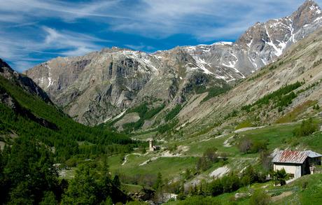 hitte in de franse alpen