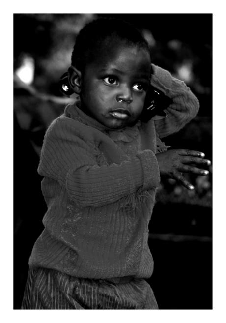 Schattig Zuid Afrikaans Jongetje