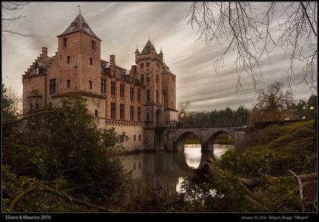 Belgie, Brugge - Kasteel Tillegem