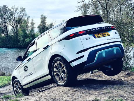 Balanceren met de Land Rover