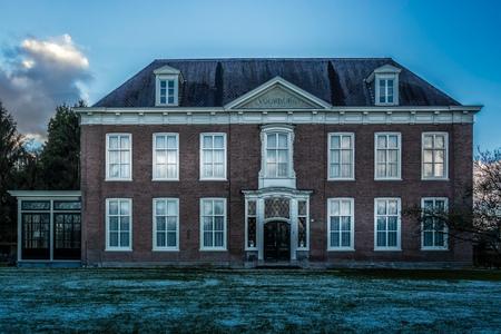 Voorburg - Rijksmonument in Vught, Noord-Brabant - foto door RobMenting op 27-02-2021 - deze foto bevat: architectuur, gebouw, huis