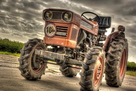 Landbouwvoertuig HDR