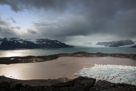 Liefdesfjord in licht