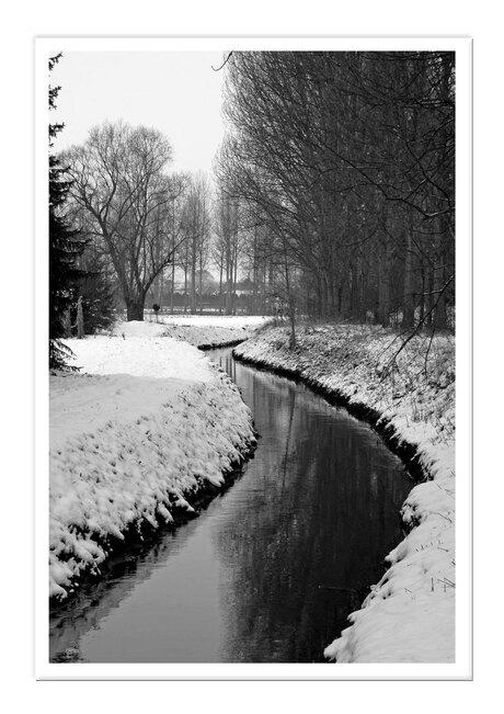 Winter in mijn dorp