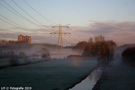 30-11-2019 Ochtend mist.