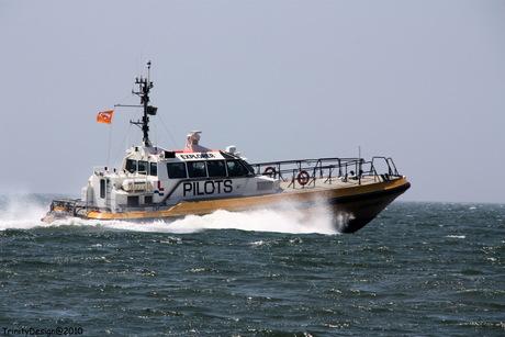 Loodsendienst voor de kust van Vlissingen