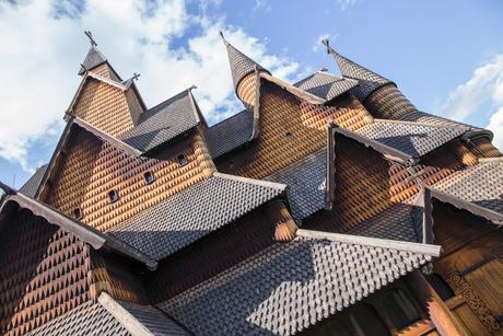 Fragment staafkerk Heddal