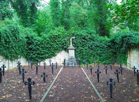 vredige rust op het kerkhof van de zusters van Barmhartigheid