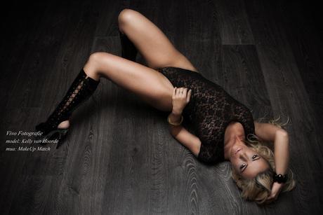 Kelly on the floor