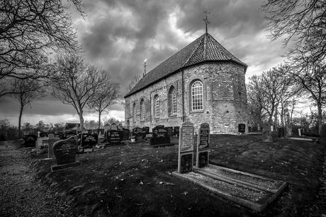 12de eeuwse kerk Wetsens