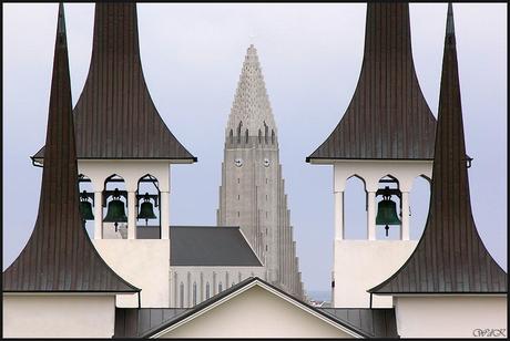 Hateigs-church en Hallgrims-church
