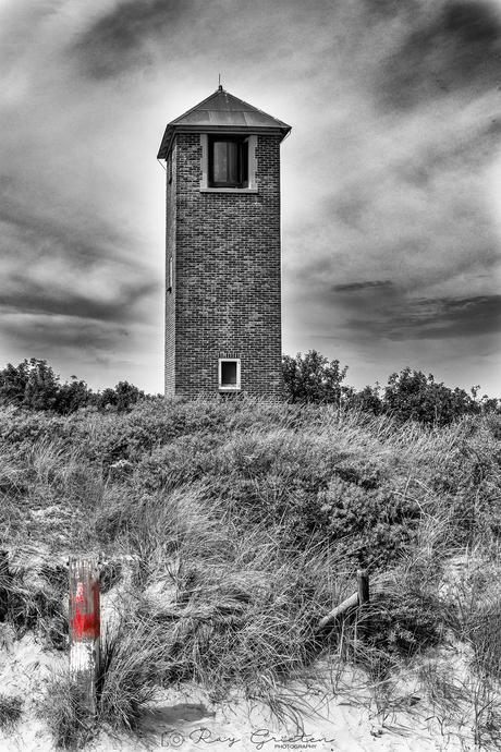 Lichttoren in zeeland