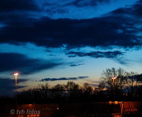Mooie avondlucht