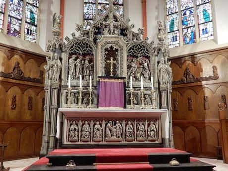 altaar sint Jospehkerk Utrecht