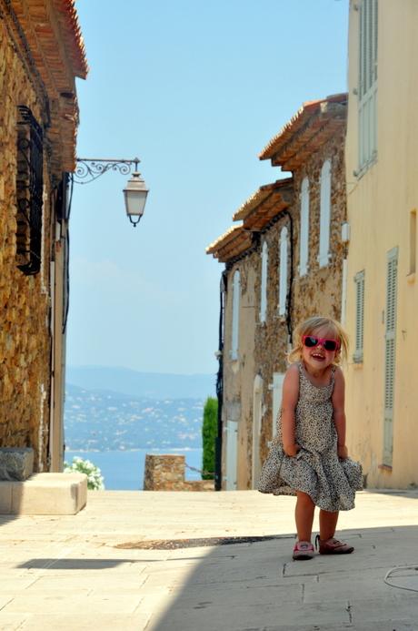 Uitzicht over de baai van Saint-Tropez