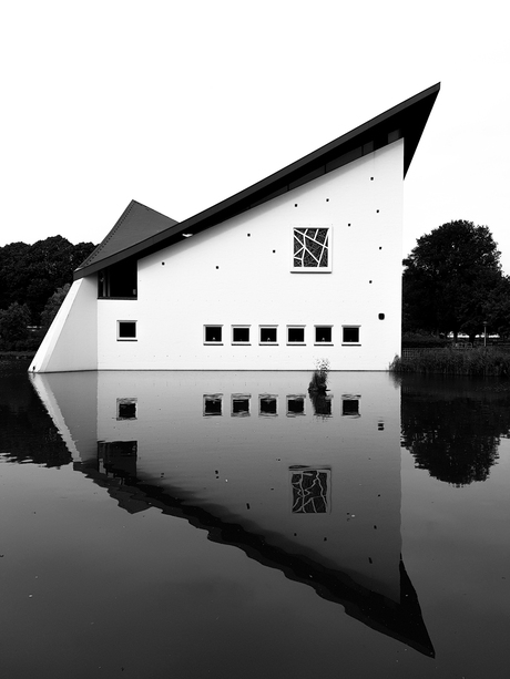 Mirror church.