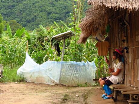 Mobiel in de jungle